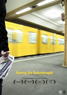 Poster SORRY TO INTERRUPT